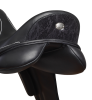 Fairfax Rebecca Monoflap Dressage Saddle - Snake Detail